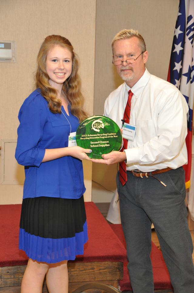Award Recipient: Second Chance School Supplies - Fayetteville
