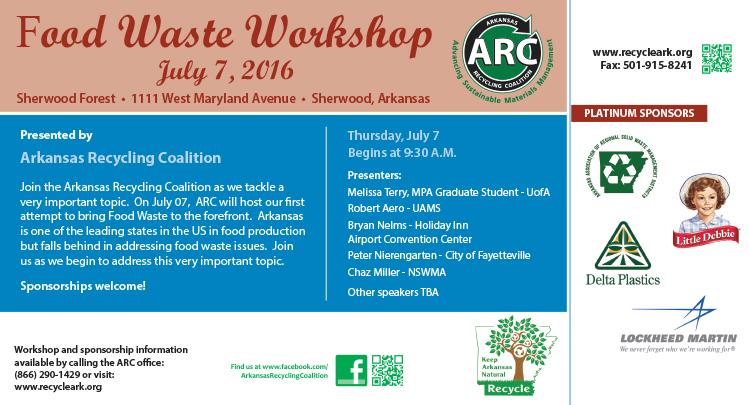 Food Waste Workshop Graphic